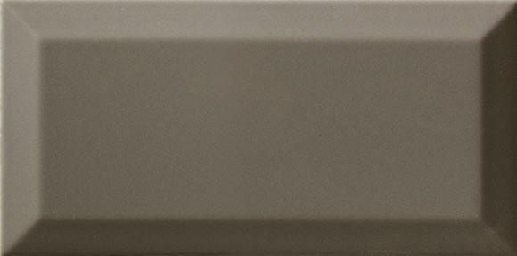 Faianta Metro Bisel Dark Grey Brillo 10x20 cm Lucioasa - Liv Art