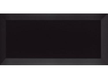 Faianta Metro Bisel Negro Brillo 10x20, Neagra - Liv Art