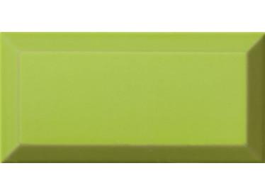 Faianta Metro Bisel Verde Brillo 10x20 Verde - Liv Art
