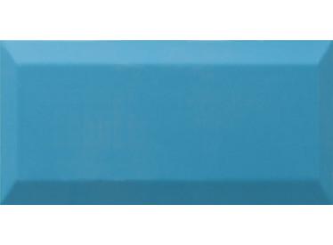Faianta Metro Albastra Bisel Teal Brillo 10x20  - Liv Art