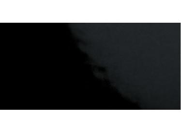 Faianta Neagra Liso Blanco Brillo 10x20 cm - Liv Art