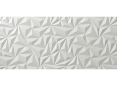 Faianta 3D Angle White Matt 40x80 cm 1 - Liv Art
