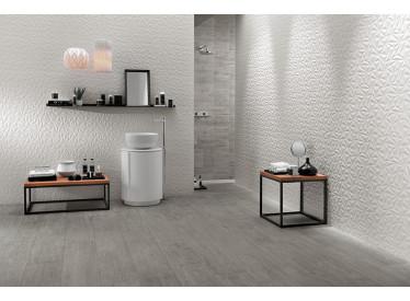 Faianta 3D Angle White Matt 40x80 cm 2 - Liv Art
