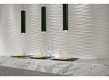 Faianta 3D Blade White Matt 40x80 cm 2 - Liv Art