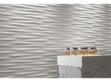 Faianta 3D Blade White Matt 40x80 cm 3 - Liv Art
