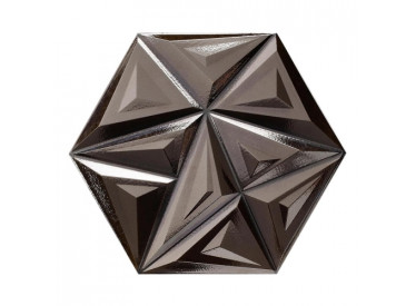Faianta Neagra Yara Metal Black 28.5x33 cm 1 - Liv Art