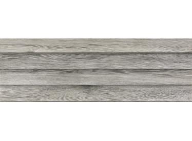 Faianta Rectificata Shutter Eleganza Grey 30x90 relief 1 - Liv Art