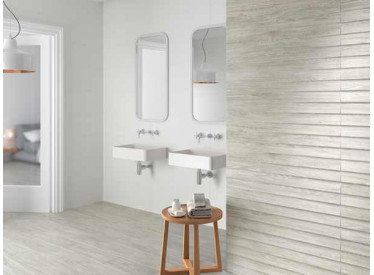 Faianta Rectificata Shutter Eleganza Grey 30x90 relief 2 - Liv Art