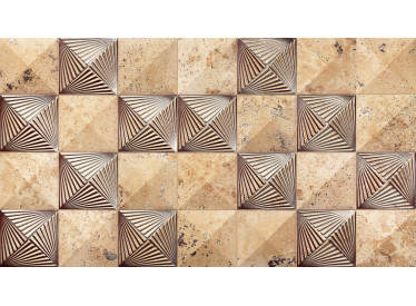 Faianta Portelanata Kefren Deco 31x56 cm, relief, 3D 1 - Liv Art