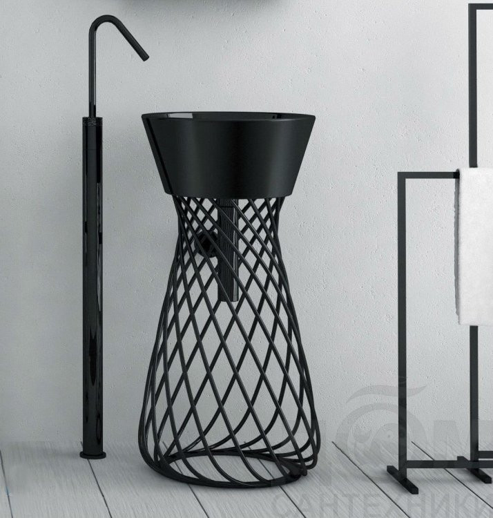 Lavoar WIRE NEGRU ArtCeram Italia 1 - Liv Art