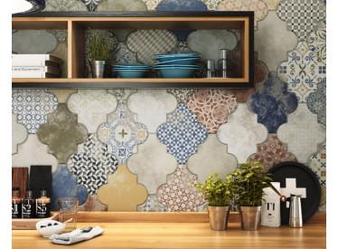 Gresie / Faianta Decorativa Riga Patchwork 45x45 cm 1 - Liv Art