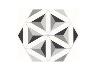 Gresie / Faianta Hexagonala Malmoe 28.5x33 cm 1 - Liv Art