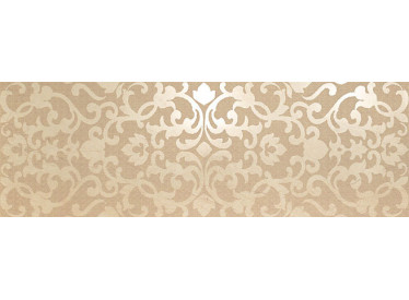 Decor Ceramic Marvel Beige Brocade 30.5x91.5cm - Liv Art