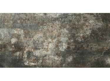 Gresie Neagra Portelanata Alchemy 7.0 Black Hammered 60x120 cm 2 - Liv Art