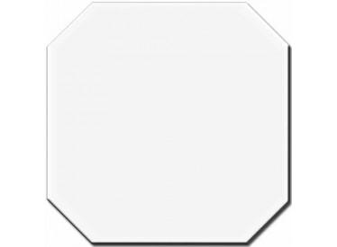 Gresie Bianco Octagon 20x20cm 2 - Liv Art