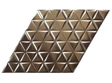 Faianta Portelanata Diamond Waves Gold 1 - Liv Art