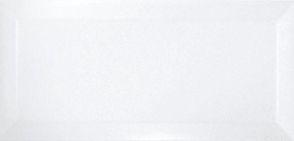 Faianta Spania  Bisel Blanco Brillo 7.5x15 METRO WHITE , Alba - Liv Art