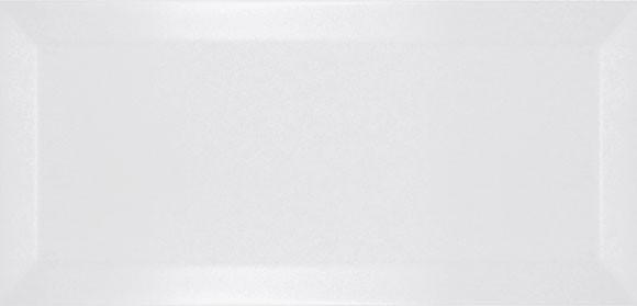 Faianta Metro Bisel Blanco Mate 7.5x15 White, Alba - Liv Art